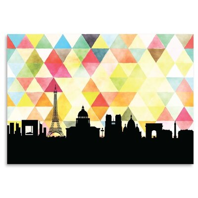 Americanflat 'Paris_Triangle' by PaperFinch Graphic Art