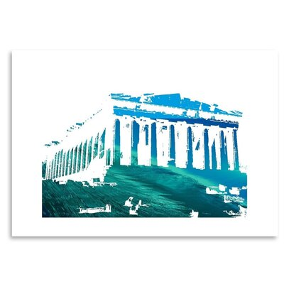 Americanflat 'Acropolis3' by Ikonolexi Graphic Art