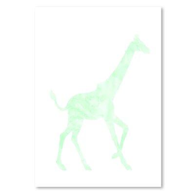 Americanflat 'Giraffe' Graphic Art