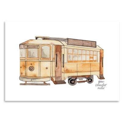 Americanflat 'Street Car' by Gina Maher Art Print