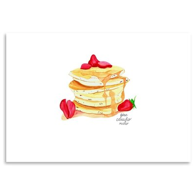 Americanflat 'Pancakes' by Gina Maher Art Print