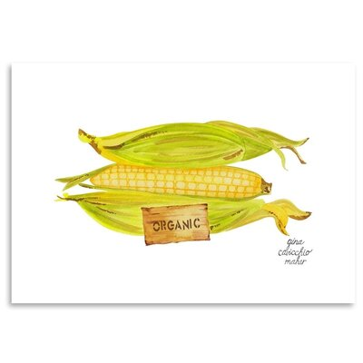 Americanflat 'Corn' by Gina Maher Art Print