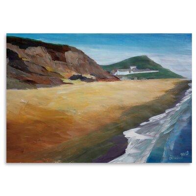 Americanflat 'Irish Coast Wexford' by M Bleichner Art Print