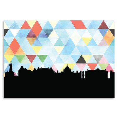 Americanflat 'Victoria Triangle' by PaperFinch Graphic Art