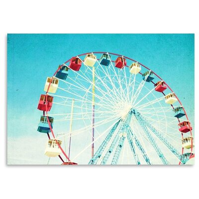 Americanflat 'Jersey-Ferris' by Mina Teslaru Photographic Print
