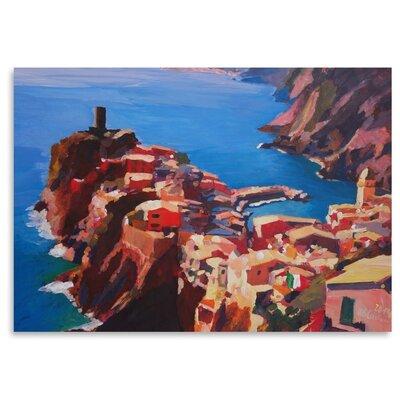 Americanflat Vernazza Cinque Terre' by Markus Bleichner Art Print
