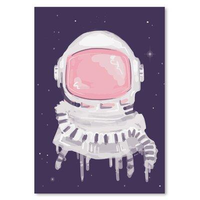 Americanflat 'Astronauthelmet' The Glass Mountain Graphic Art