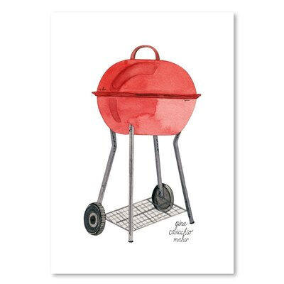 Americanflat 'Grill' by Gina Maher Art Print