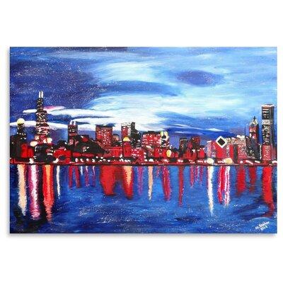 Americanflat 'Chicago 1' by M Bleichner Art Print