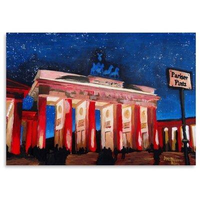 Americanflat Berlin 2 Stars' by Markus Bleichner Art Print