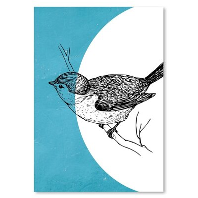 Americanflat 'Bird' by Ikonolexi Graphic Art