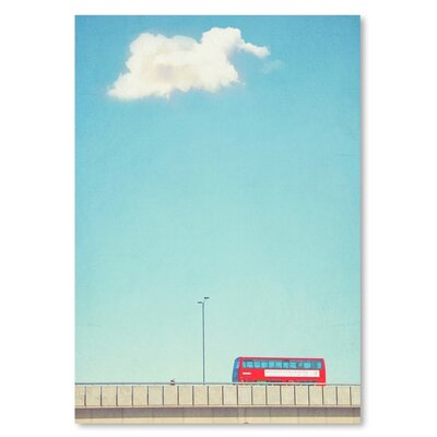 Americanflat 'Lonely-Skies-London' by Mina Teslaru Photographic Print