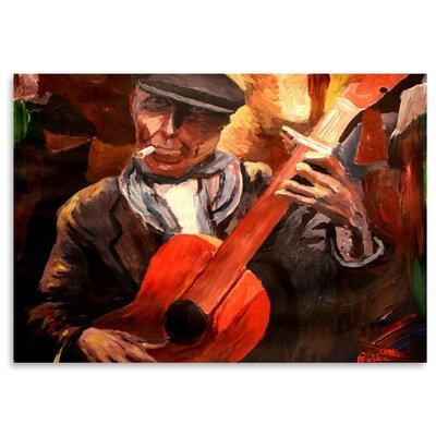 Americanflat The Guitarrero' by Markus Bleichner Art Print