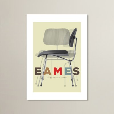Americanflat Eames Chair by Liz Lyons Graphic Art