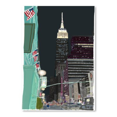 Americanflat 'Ny 6' by Marian Nixon Art Print