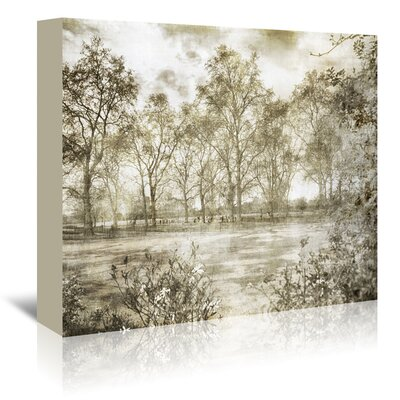Americanflat 'Hyde Park II' by Golie Miamee Photographic Print Wrapped on Canvas