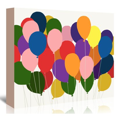 Americanflat 'Balloons' by Jorey Hurley Art Print Wrapped on Canvas
