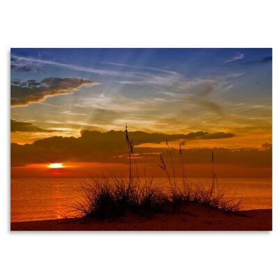 Americanflat 'Gorgeous Sunset' by Melanie Viola Photographic Print