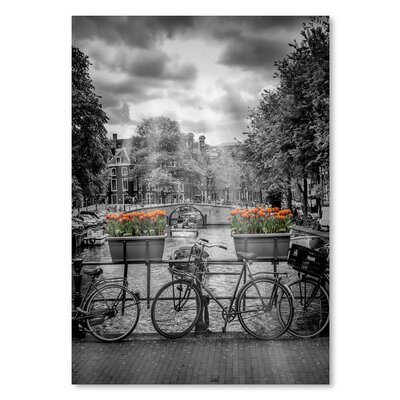 Americanflat 'Typical Amsterdam' by Melanie Viola Photographic Print
