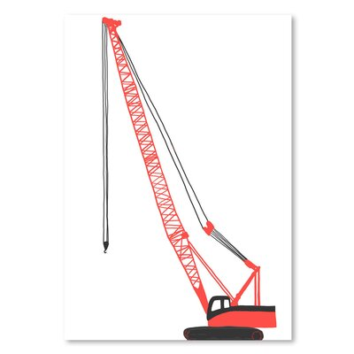 Americanflat 'Crane' by Jorey Hurley Art Print