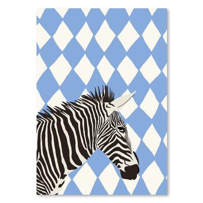 Americanflat Zebra' by Jorey Hurley Art Print