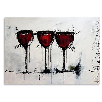 Americanflat 'Vino 3' by Annie Rodrigue Art Print