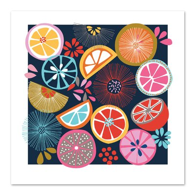 Americanflat 'Oranges' by Jocelyn Proust Graphic Art
