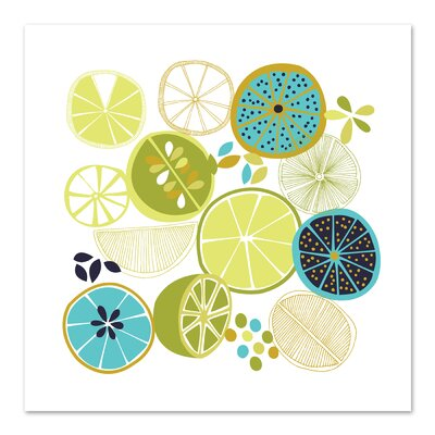 Americanflat 'Luscious Limes' by Jocelyn Proust Graphic Art