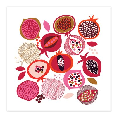 Americanflat 'Pomegranates' by Jocelyn Proust Graphic Art