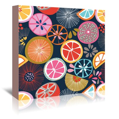 Americanflat 'Oranges 1' by Jocelyn Proust Graphic Art Wrapped on Canvas