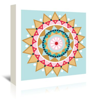 Americanflat 'Christmas Star' by Jocelyn Proust Graphic Art Wrapped on Canvas