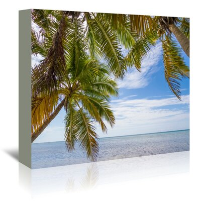 Americanflat 'Florida Lovely Oceanside' by Melanie Viola Photographic Print Wrapped on Canvas