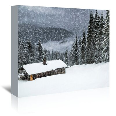 Americanflat 'Germany Bavarian Winter's Tale II' by Melanie Viola Photographic Print Wrapped on Canvas