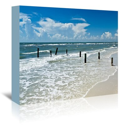 Americanflat 'Florida Gulf of Mexico' by Melanie Viola Photographic Print Wrapped on Canvas