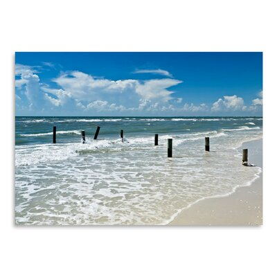 Americanflat 'Florida Gulf of Mexico' by Melanie Viola Photographic Print