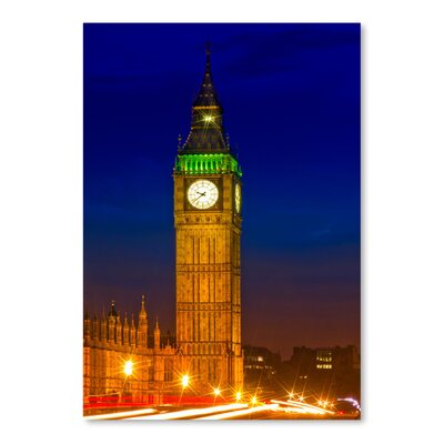 Americanflat 'London Evening Cityscape' by Melanie Viola Photographic Print