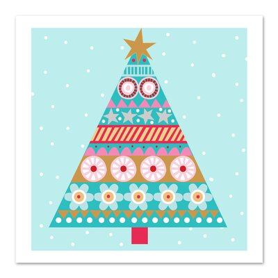 Americanflat 'Christmas Tree' by Jocelyn Proust Graphic Art