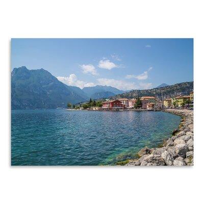 Americanflat 'Lake Garda Torbole Lakeside' by Melanie Viola Photographic Print