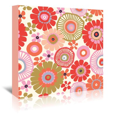 Americanflat 'Flower Child 1' by Jocelyn Proust Graphic Art Wrapped on Canvas
