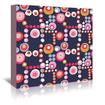 Americanflat 'Mod Circles' by Jocelyn Proust Graphic Art Wrapped on Canvas