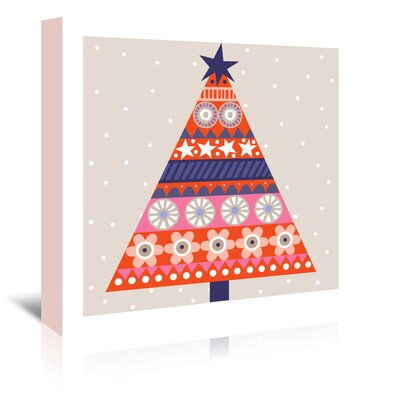 Americanflat 'Christmas Tree Alt' by Jocelyn Proust Graphic Art Wrapped on Canvas