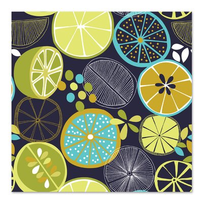 Americanflat 'Luscious Limes 1' by Jocelyn Proust Graphic Art