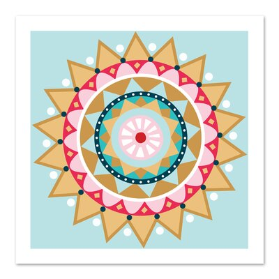 Americanflat 'Christmas Star' by Jocelyn Proust Graphic Art