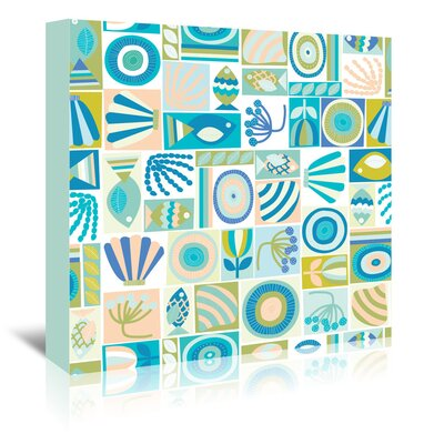 Americanflat 'Under the Sea 1' by Jocelyn Proust Graphic Art Wrapped on Canvas