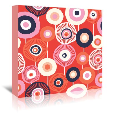 Americanflat 'Flower Child 2' by Jocelyn Proust Graphic Art Wrapped on Canvas