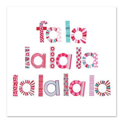 Americanflat 'Christmas Fa La La' by Jocelyn Proust Typography