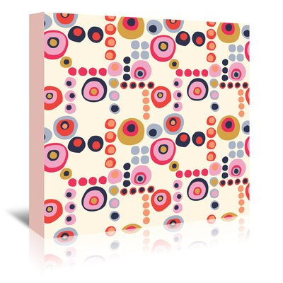 Americanflat 'Mod Circles Light' by Jocelyn Proust Graphic Art Wrapped on Canvas