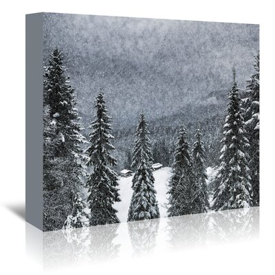 Americanflat 'Germany Bavarian Winter's Tale I' by Melanie Viola Photographic Print Wrapped on Canvas