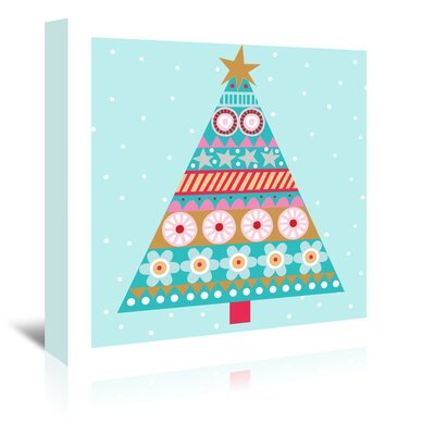 Americanflat 'Christmas Tree' by Jocelyn Proust Graphic Art Wrapped on Canvas