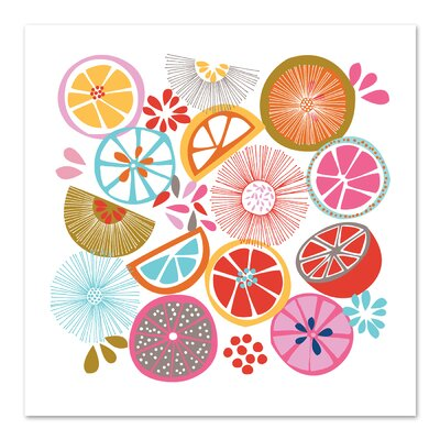 Americanflat 'Oranges' by Jocelyn Proust Graphic Art